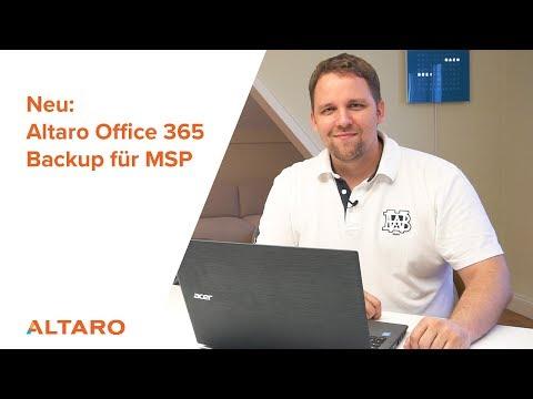 Neu: Altaro Office 365 Backup für MSP