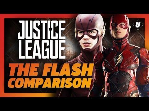 The Flash Comparison: DCEU vs CW
