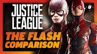 The Flash Comparison: DCEU vs CW