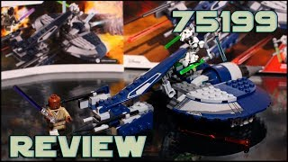 Lego Star Wars 75199 General Grievous' Combat Speeder Review   Обзор на ЛЕГО Спидер Генерала Гривуса