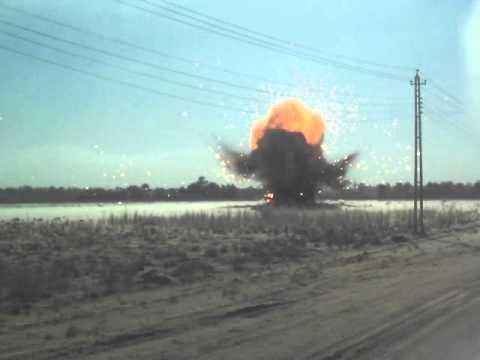 Control Detonation OIFV 2007-2008 Arab Jabour, IRAQ