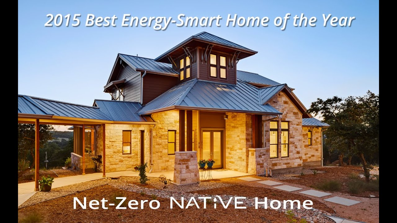 Charming Energy Smart Home #10: 2015 Best Energy-Smart Home Of The Year - YouTube