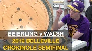 2019 Belleville Crokinole Semi - Beierling v Walsh