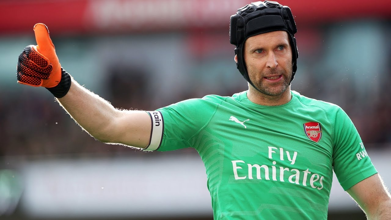 f27bb4842 But why does Petr Čech always wear a helmet  - Oh My Goal - YouTube