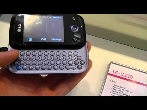 Dutch: LG C330 hands-on