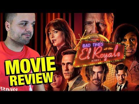 Malos tiempos en El Royale - CRÍTICA - REVIEW - Bad Times at the El Royale - Drew Goddard