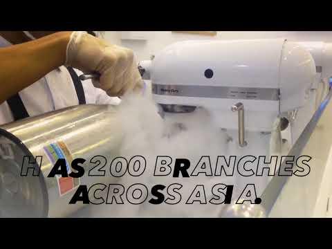 Singapore's G9 Molecular Ice Cream, Now in the Philippines