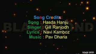 Hasda Hanju  lyrics