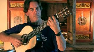 Mallorca by Albeniz - Michael Chapdelaine -  Nylon Solo Guitar - Classical  - Video