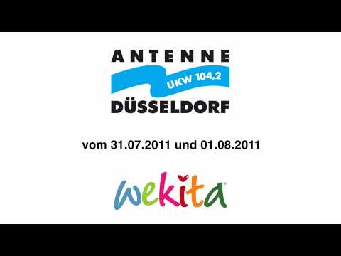 wekita im radio auf antenne düsseldorf