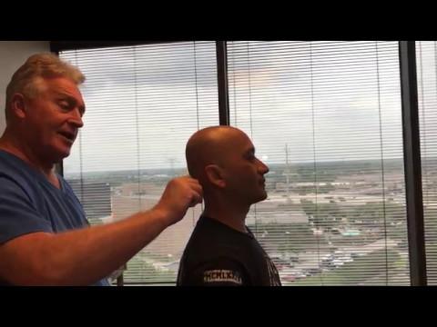 Houston Chiropractor Dr Greg Johnson Adjust Seattle WA Patient Who Flew To Houston
