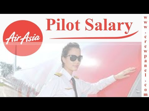 AirAsia Pilot Salary | Latest PayScale | First Officer Salary | Captain Salary