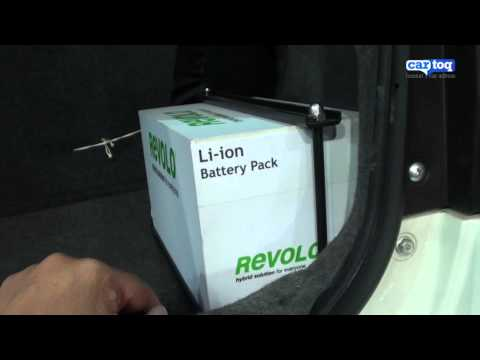 Convert any car into a hybrid with Revolo system! Video Review by CarToq.com