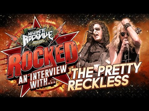 Interview with THE PRETTY RECKLESS at Welcome To Rockville 2017 | Rocked