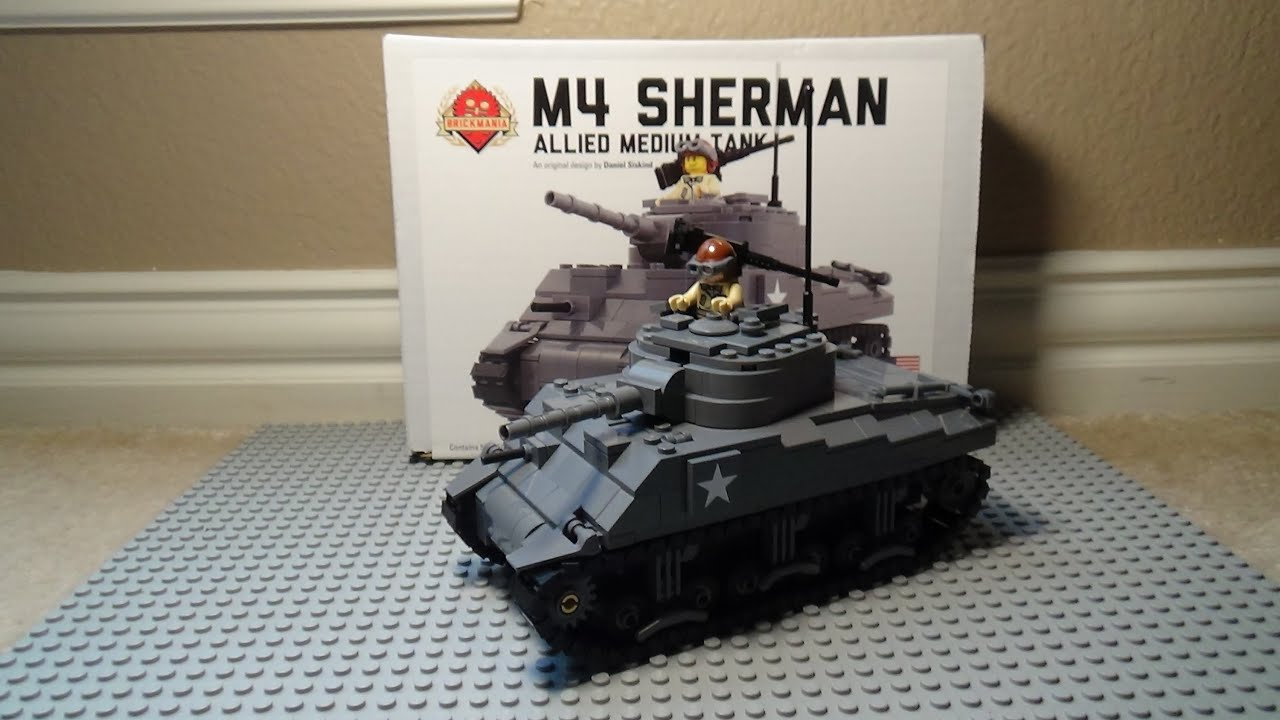 Lego M4 Sherman Brickmania Kit Review