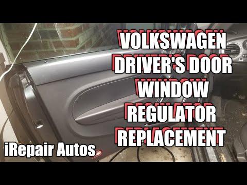 Volkswagen Beetle Driver's Window Regulator Replacement | DIY