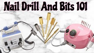Nail Drills and Bits 101 | All About Nail Drills | Natalie Carmona