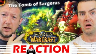 Legion - Patch 7.2 & The Tomb of Sargeras Finale Trailer REACTION (WoW)