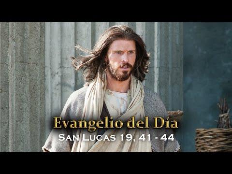 EVANGELIO DEL DÍA – 19 / Noviembre / 2015 - (San Lucas 19, 41-44)