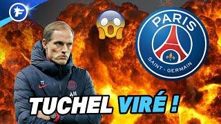 Le PSG limoge Thomas Tuchel !