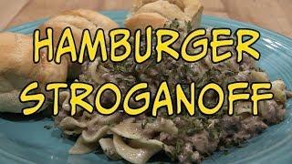 Easy Hamburger Beef Stroganoff Recipe