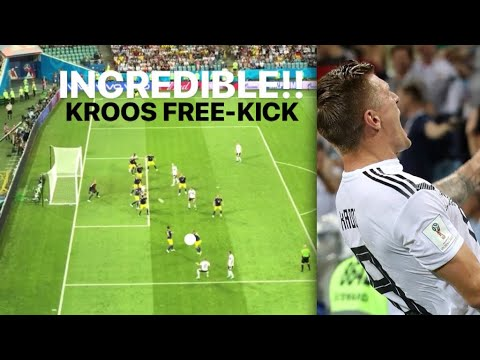 INCREDIBLE!! TONI KROOS FREE-KICK WINNER (CROWD VIEW) GERMANY COMEBACK Vs SWEDEN!! WORLD CUP 2018