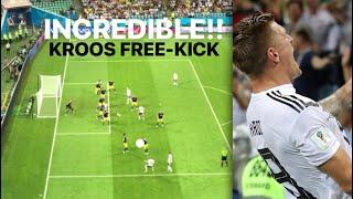 INCREDIBLE!! TONI KROOS FREE-KICK WINNER (CROWD VIEW) GERMANY COMEBACK Vs SWEDEN!! WORLD CUP 2018