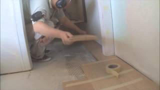 How To Transition Hardwood Floors In The Narrow Places