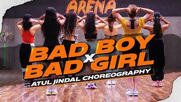 Bad Boy x Bad Girl Dance Video | Badshah | Nikhita Gandhi | Atul Jindal Choreography - Big Dance