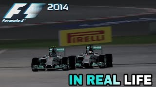 F1 2014 GAME IN REAL LIFE