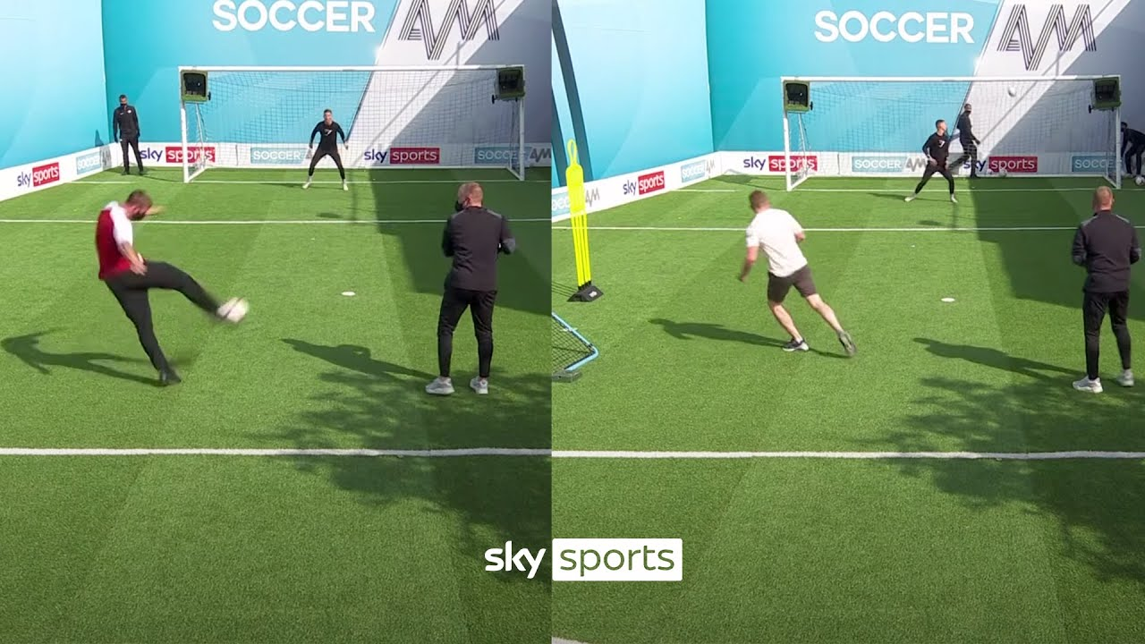 Can ARSENAL fans top the volleys leaderboard? 👀 | Volley Challenge