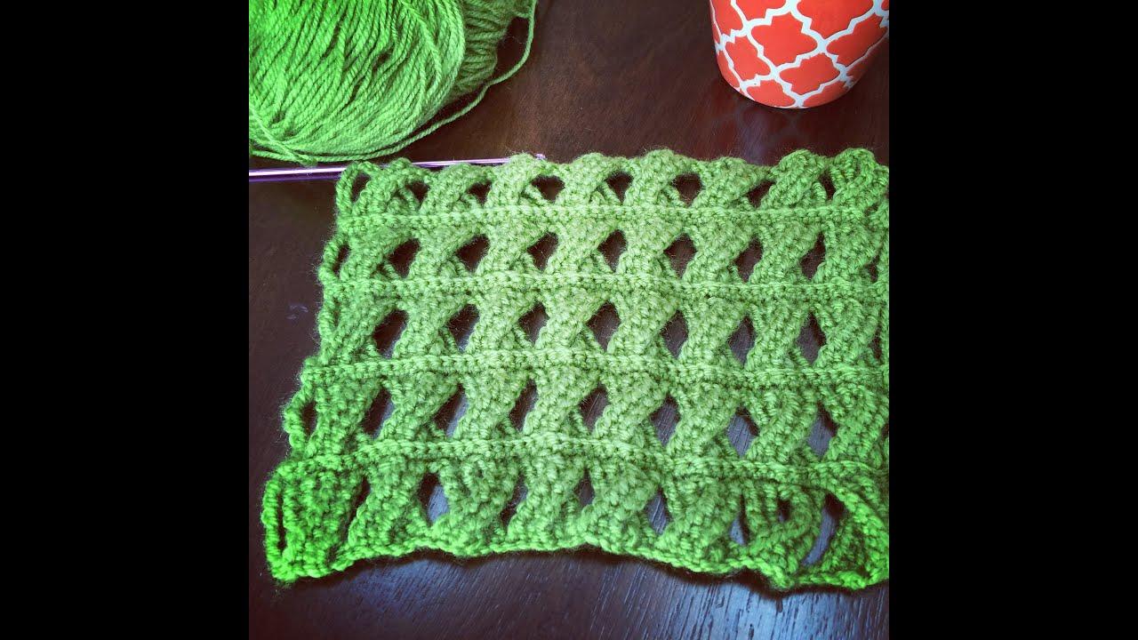 Crochet pattern cable crochet stitch tunisian crochet youtube crochet pattern cable crochet stitch tunisian crochet bankloansurffo Gallery