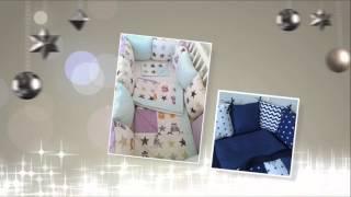 Бортики-подушки в кроватку.(, 2016-04-17T19:06:38.000Z)