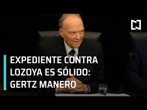 Expediente contra Emilio Lozoya está sólido: Gertz Manero - Despierta con Loret