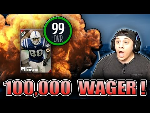 WOAH HARRISON IS REALLY GOOD! (99 MARVIN HARRISON GAMEPLAY) - MADDEN 17 ULTIMATE TEAM