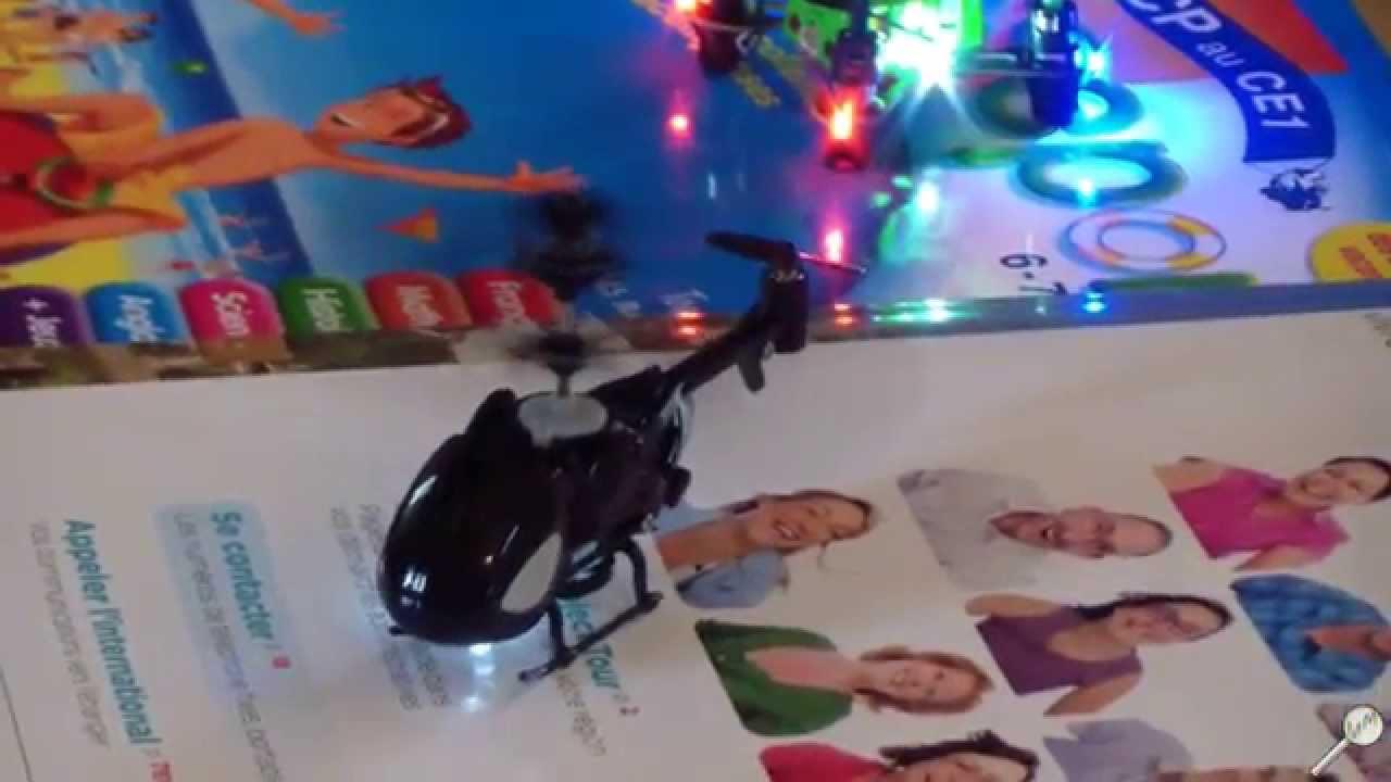 H licopt re qingsong nano qs 5010 pr sentation l for Helicoptere interieur