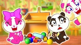 Clean Up Song   Panda Bo Nursery Rhymes & Kids Songs