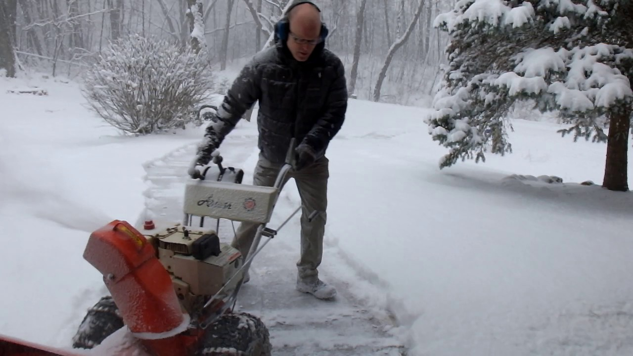 Snow Blower or Paper Shredder? - YouTube Shredding Snow