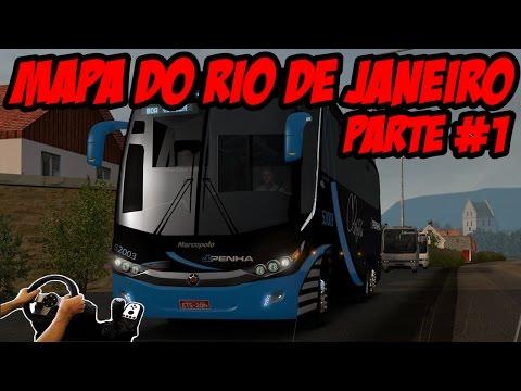MAPA RIO DE JANEIRO - ÔNIBUS G7 1200 FACELIFT - VOLANTE G27!!!