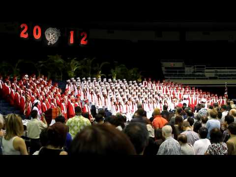 Kalani Class of 2012 - Hawaiʻi Ponoʻī  & Alma mater