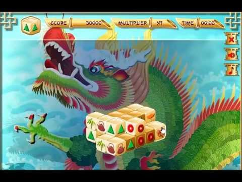 Mahjong 3D video game