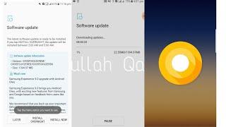 Samsung Galaxy S7 edge official oreo update