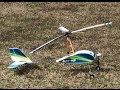 Hobby King Dura fly Auto G Gyrocopter 821mm Maiden and Crash
