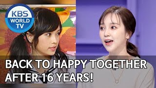 Ayumi's back to Happy Together after 16 years! [Happy Together/2020.03.26]
