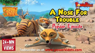 jungle book hindi Cartoon for kids 87 a nose for trouble