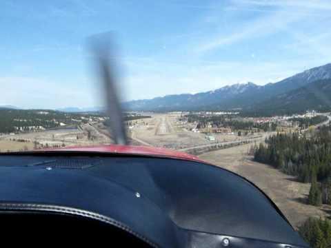 Mountain flight near Banff Alberta Canada#4