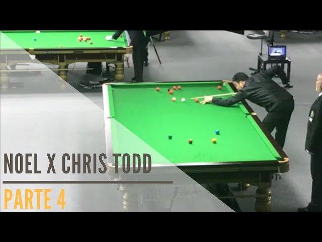 Noel x Chris Todd - Parte 4: Campeonato Mundial de Snooker IBSF Masters - Doha / Qatar 2017