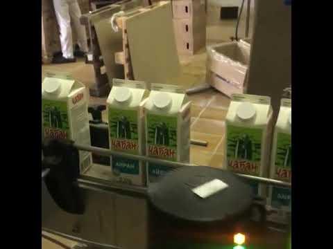 Маркировка молочной продукции оборудованием Videojet