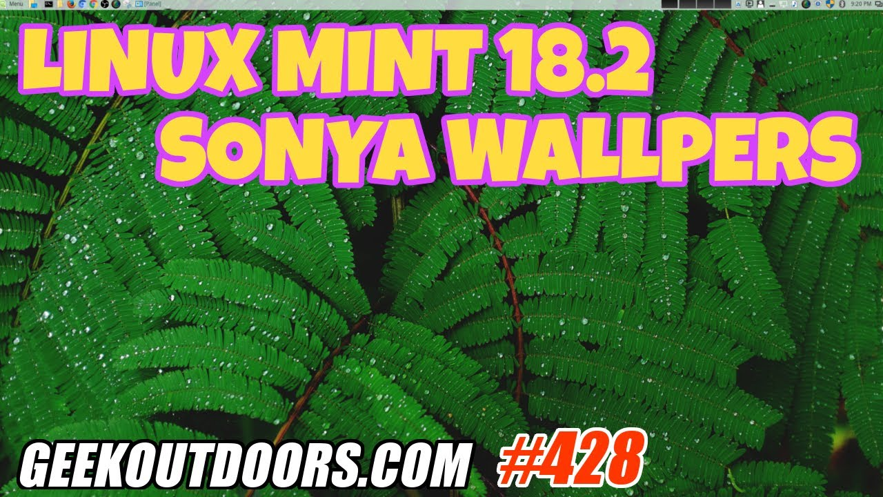 How To Install Linux Mint 182 Sonya Wallpapers Geekoutdoors EP428