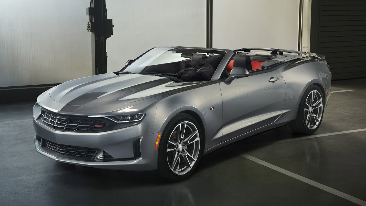 2019 Chevrolet Camaro Convertible Rs Design Footage Exterior Interior Youtube